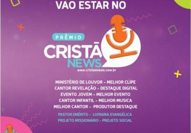 Portal Cristão News irá premiar artistas e projetos evangélicos que foram destaques em Sergipe, no ano de 2018