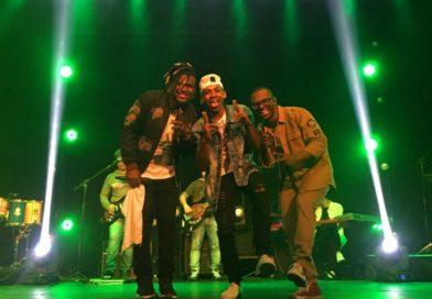 MC Juninho participa de gravação do DVD da banda gospel Dopa em SP